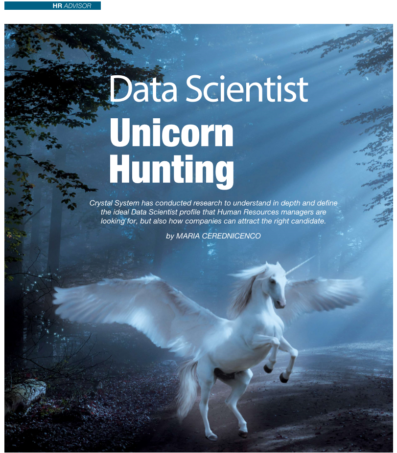 Data Scientist – Hunting the Unicorn Article