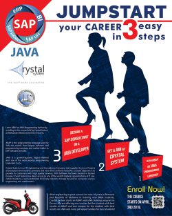 Durres 2018 – ABAP and JAVA courses